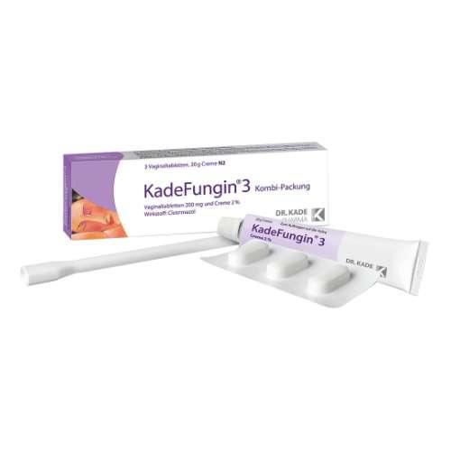 KADEFUNGIN 3 Kombip.20 g Creme+3 Vaginaltabl.