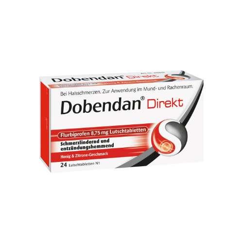 DOBENDAN Direkt Flurbiprofen 8,75 mg Lutschtabl.