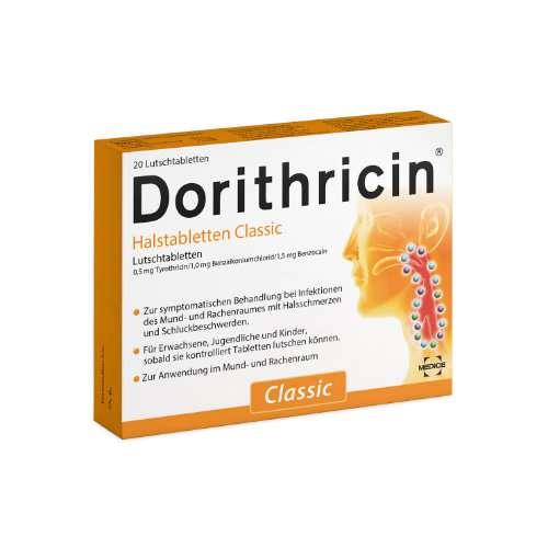 DORITHRICIN Halstabletten Classic oder Waldbeere