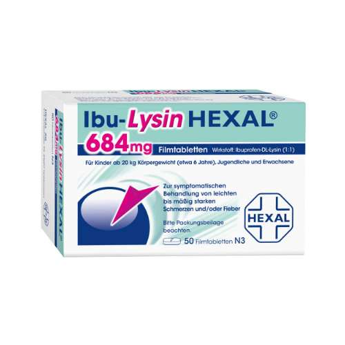 IbuLysin Hexal 684mg