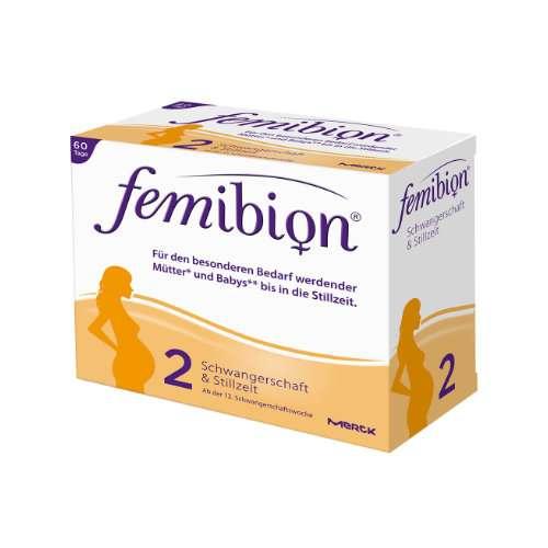 FEMIBION Schwangerschaft 2 D3+DHA+400 µg Folat