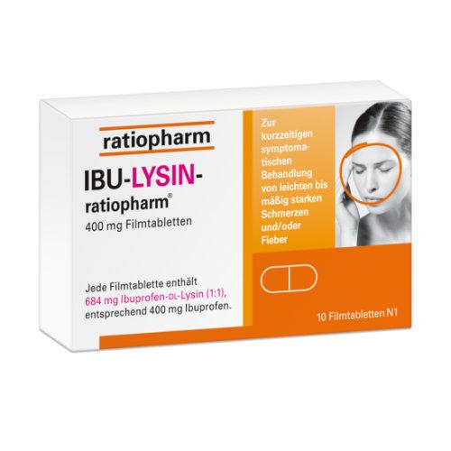 Ibu Lysin ratiopharm 400mg